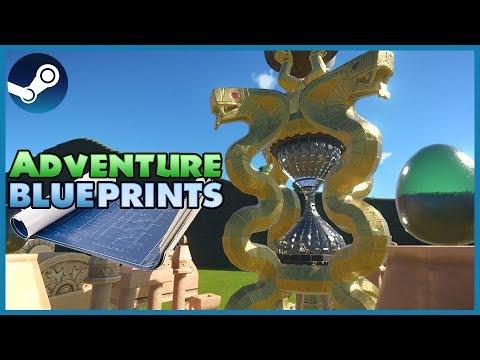 Blueprint Spotlight 08: Adventure DLC! #PlanetCoaster