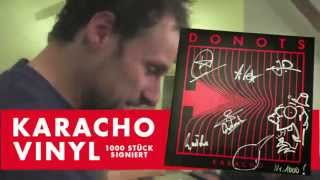 DONOTS // limitierte KARACHO Doppel-Vinyl // signiert