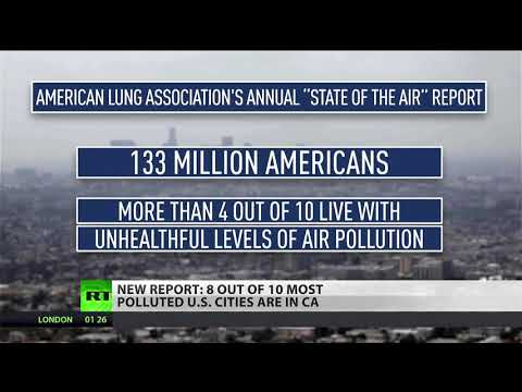 California has most polluted cities