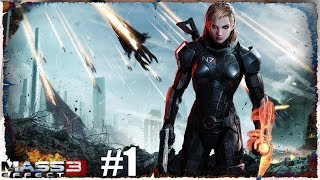 Mass Effect 3: Digital Deluxe Edition Вступление 1 серия