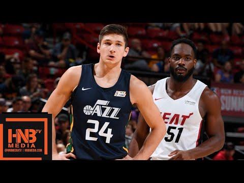 Utah Jazz vs Miami Heat Full Game Highlights / July 10 / 2018 NBA Summer League