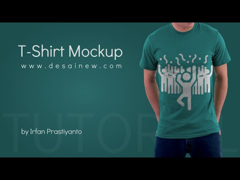 Tutorial how to create t shirt mockup in gimp youtube for How to start designing t shirts