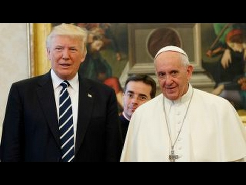 Inside President Trump's meeting with Pope Francis
