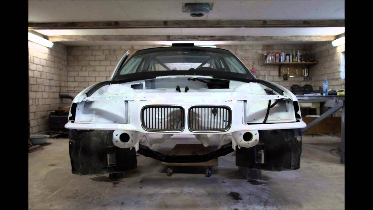 BMW rally car building  YouTube