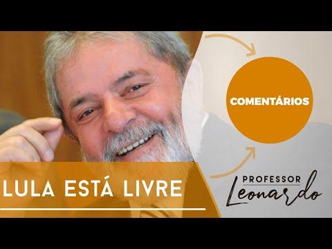 Lula está livre e Bolsonaro comemora
