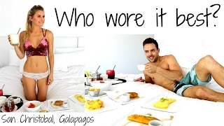 Who wore it Best in San Cristobal. Galapagos?! | Rebecca Louise