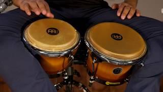 MEINL Percussion Latin Styles on Bongos - FWB400GAB