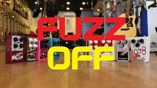FUZZ OFF feat. EHX, Earthquaker Devices, Mojo Hand FX