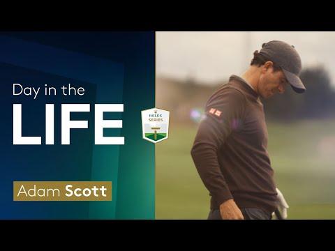A Day in the Life: Adam Scott | 2021 BMW PGA Championship