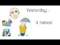 Yesterday Past Tense Set 3 English Speaking Practice ESL EFL mp3