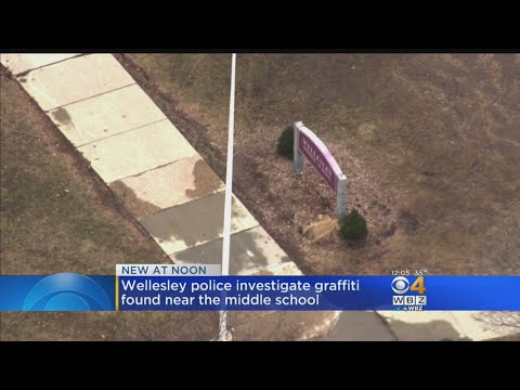 'Are We Next' Spray Painted At Entrance Of Wellesley Middle School