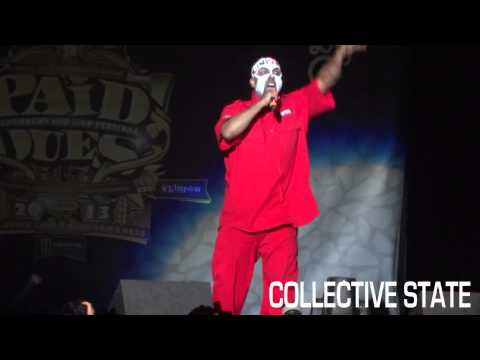 Tech N9ne - E.B.A.H.' & Am I A Psycho Live at Paid Dues 2013 | HD