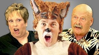 ELDERS REACT TO YLVIS - THE FOX thumbnail
