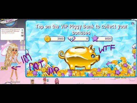 HOW TO OPEN THE VIP PIGGY BANK AS A NON VIP! - MovieStarPlanet