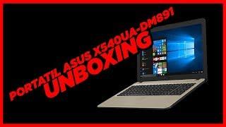 UNBOXING - PORTATIL ASUS X540UA-DM891 - #OMNILIBERES