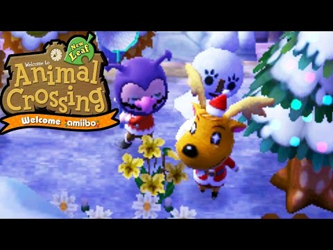 Animal Crossing New Leaf - Welcome amiibo - Toy Day Presents with Jingle - 3DS Gameplay Walkthrough