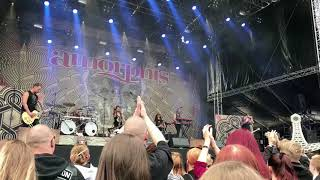 Amorphis - Wrong Direction - Southpark Tampere 9.6.2018 live