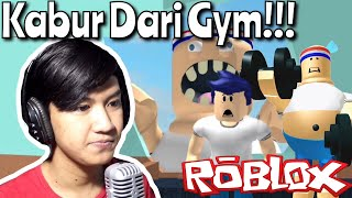 GAK MAU NGE-GYM!!? ESCAPE THE GYM OBBY - (ROBLOX #9)
