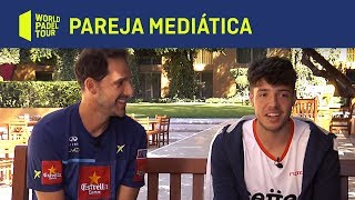 Primera entrevista de Juan Martín Díaz y Agustín Tapia como pareja para 2019