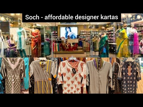 Soch - Affordable Designer Kurtas / Designer Kurtas Under ₹1000