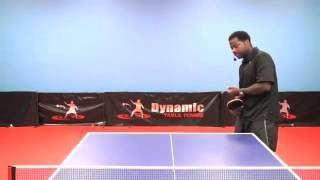 Rules of Table Tennis - Rules for Serving