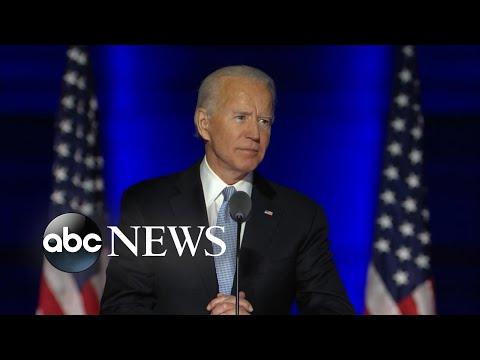 Joe Biden's full speech after becoming president-elect