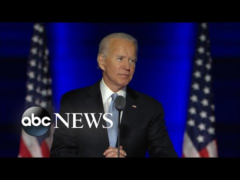 Joe Biden's full speech after becoming president-elect