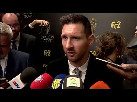 Balon De Oro Leo Messi Sigo Con Ganas De Continuar