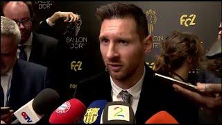 "Balon De Oro | Leo Messi: ""sigo Con Ganas De Continuar Mejorando Cada Día"""