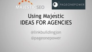 How To Use Majestic Seo And Supercharge Your Link Buildiing