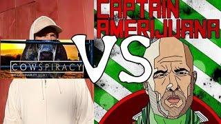 Joe Rogan VS Cowspiracy (Veganism, Vegetarianism, The Meatrix)