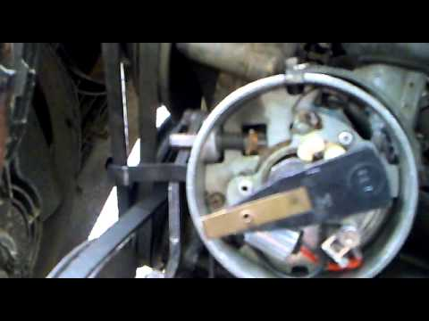 Como limpiar calibrar y armar un distribuidor lucas de ...