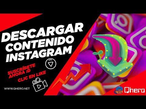 📲 DESCARGAR FOTOS, VIDEOS, HISTORIAS e IGTV de INSTAGRAM desde PC 💻 ¡FÁCIL Y RÁPIDO!