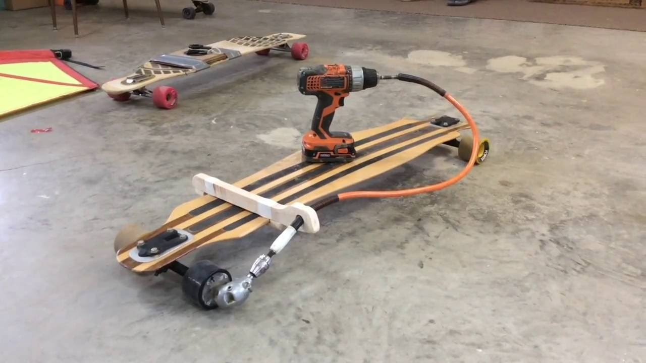 Diy Electric Longboard Youtube