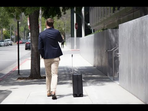 328cb3b7b11 1st AI-Powered Suitcase Following by Side !!! - YouTube
