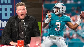 Pat McAfee Reacts To Tua Going To The Dolphins