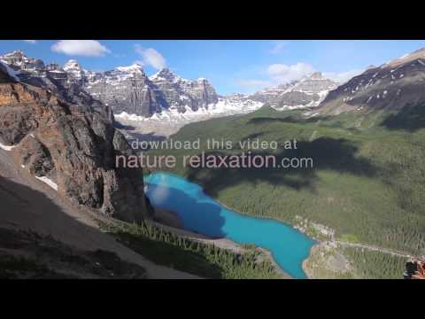 """Mountains of Majesty"" (Pure Nature Video) Banff 1 Hour Relaxation Experience 1080p"