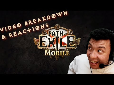 Path Of Exile Mobile Gameplay Analysis, Breakdown, And Reactions