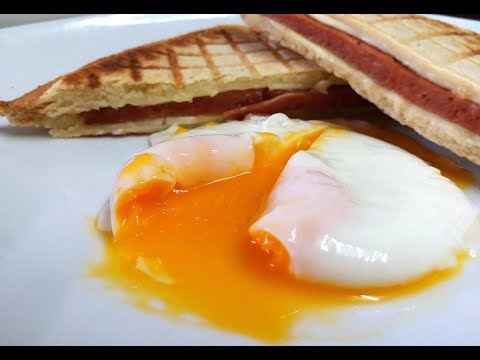 最簡單的水煮蛋 ( 不加 醋 不加油 不用攪 不粘鍋 ) Poached egg  【20無限】