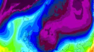 Gfs Europe 850 Hpa Temperatures