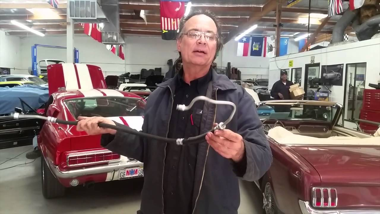 Power Steering Line Howard S 1968 Shelby Gt350 Convertible Day 24