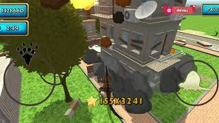 Dinosaur Simulator: Dino World (DIMETRODON) - Android Gameplay #18