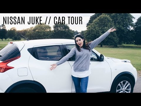 My FIRST Car!! Nissan Juke Car Tour 2017