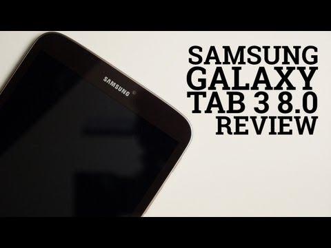 Samsung Galaxy Tab 3 8.0 review (video)