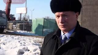 Мэр посетил строительство развязки на юге Москвы