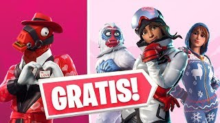 How to get these skins for FREE - Fortnite Battle Royale - News - Love Event for All