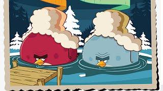 Angry Birds Seasons: On Finn Ice Golden Eggs - Walkthrough