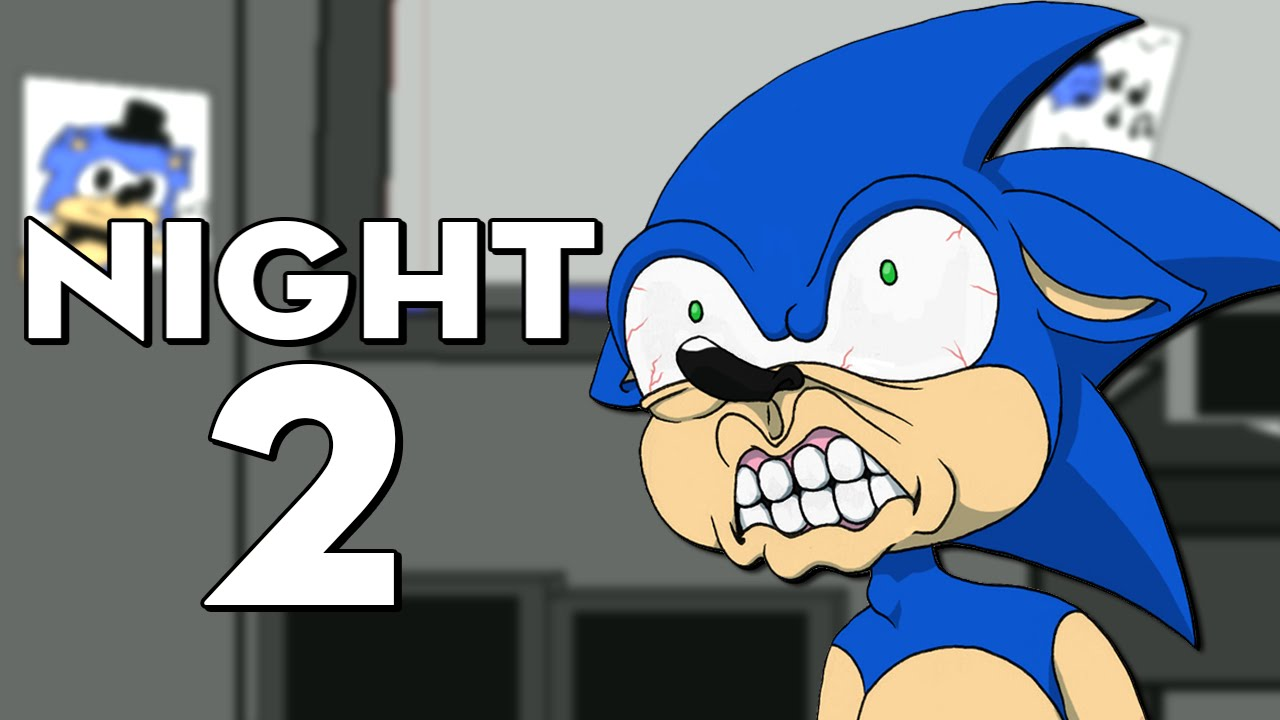 Five nights at sonic s 3 night 2 sonic is mad youtube