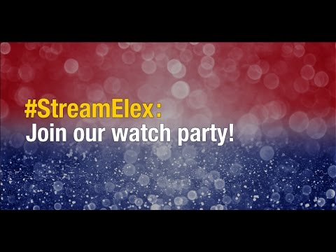 #StreamElex US election viewing party