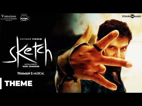 Sketch Theme (Promo) Song | Chiyaan Vikram | Vijay Chandar | Thaman S